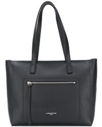Lancaster - Zip Pocket Shoulder Bag - Lyst