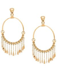 Chloé | Round Shaped Earings | Lyst