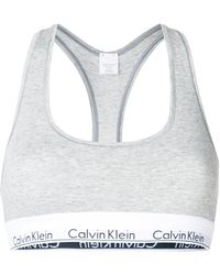 CALVIN KLEIN 205W39NYC - Logo Bralette - Lyst