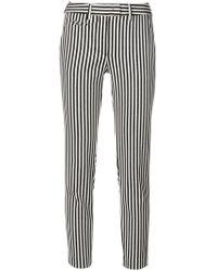 Incotex - Striped Trousers - Lyst