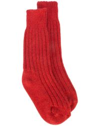 The Elder Statesman - Cashmere Yosemite Socks - Lyst