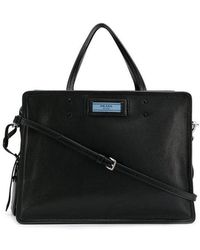Lyst - Dolce   Gabbana Family Patch Shopping Bag in Black 4586d32bd7641
