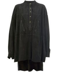 f6d8558527 Faith Connexion All Over Studded T-shirt Dress in Black - Lyst