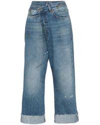 R13 - Jeans a vita alta - Lyst