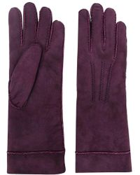 Isabel Marant - Embroidered Lambskin Gloves - Lyst