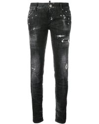 DSquared² - Gerippte Jeans - Lyst