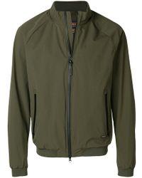 Woolrich - Zipped Bomber Jacket - Lyst