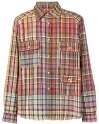 Missoni - Checked Button Shirt - Lyst