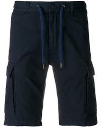 Canali - Elasticated Drawstring Shorts - Lyst