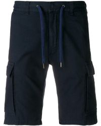 Canali - Elasticated Drawstring Shorts - Lyst