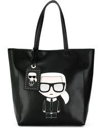 Karl Lagerfeld K/ikonik Soft Tote