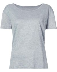 Majestic Filatures - Relaxed Fit T-shirt - Lyst