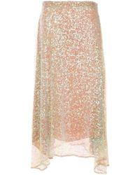 Rachel Comey - Sequinned Knitted Skirt - Lyst