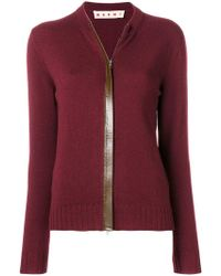 Marni - Zipped Up Cardigan - Lyst