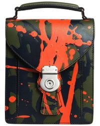 Burberry - Small Dk88 Splash Satchel Bag - Lyst