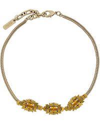 Rada' - Triple Stone Necklace - Lyst
