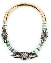 Shourouk - 'mamba' Necklace - Lyst