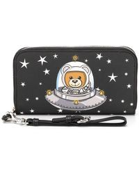 Moschino - Space Teddy Wallet - Lyst