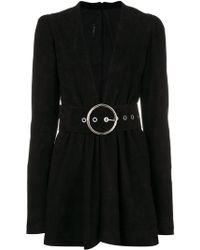 Manokhi - Short Belted Dress - Lyst