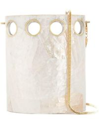 Nathalie Trad - Shell Bucket Bag - Lyst
