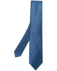 Brioni - Cravatta con stampa geometrica - Lyst