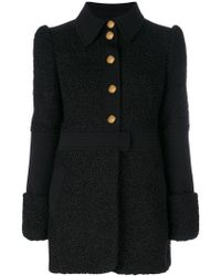 Philosophy Di Lorenzo Serafini | Flocked Effect Midi Coat | Lyst