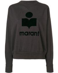 Étoile Isabel Marant - Moby Logo Sweatshirt - Lyst