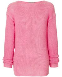 Ermanno Scervino - Casual Knit Jumper - Lyst