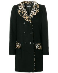 Jeremy Scott - Double Breasted Coat - Lyst