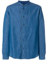 Natural Selection - Grandad Button Shirt - Lyst