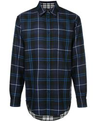 Alexander Wang - Long-sleeved Check Shirt - Lyst