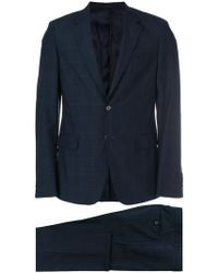 Prada - Checked Two Piece Suit - Lyst