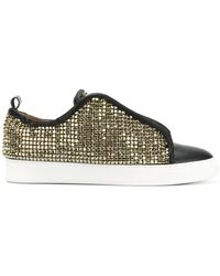 Black Dioniso - Swr Crystal Coated Sneakers - Lyst