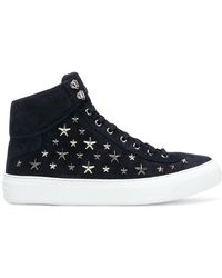 Jimmy Choo - Argyle Hi-top Sneakers - Lyst
