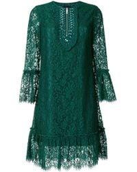 John Richmond - Jewelled Scalloped Dress - Lyst
