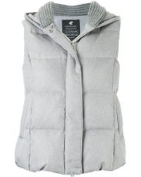Loveless - Padded Gilet - Lyst