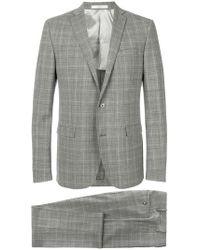 Corneliani - Plaid Suit - Lyst