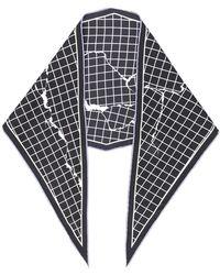 Haider Ackermann - Checked Neck Tie - Lyst