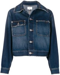 Current/Elliott Veste crop en jean