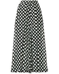 Rossella Jardini - Polka Dot Cropped Trousers - Lyst
