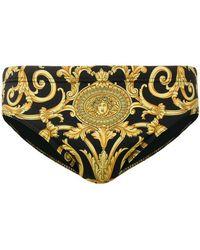 Versace - Bañador con estampado barroco - Lyst