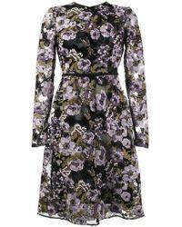 Giambattista Valli - Kleid mit Blumenmuster - Lyst