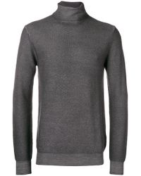 Paolo Pecora - Roll-neck Fitted Sweater - Lyst