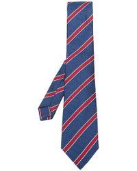 Kiton - Striped Tie - Lyst