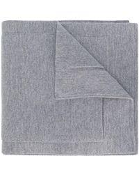 Thom Browne - 4-bar Stripe Scarf - Lyst