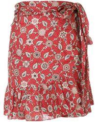 Étoile Isabel Marant - Wrap Front Mini Skirt - Lyst