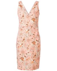 Stella McCartney - Floral Mini Dress - Lyst