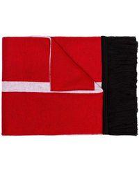 Lyst - Chaussettes de sport en coton à logo en intarsia Givenchy ... 01a900bcc82