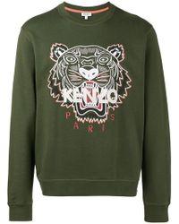 KENZO - Sweatshirt mit Tiger-Print - Lyst