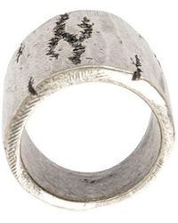Tobias Wistisen - Cracked Ring - Lyst